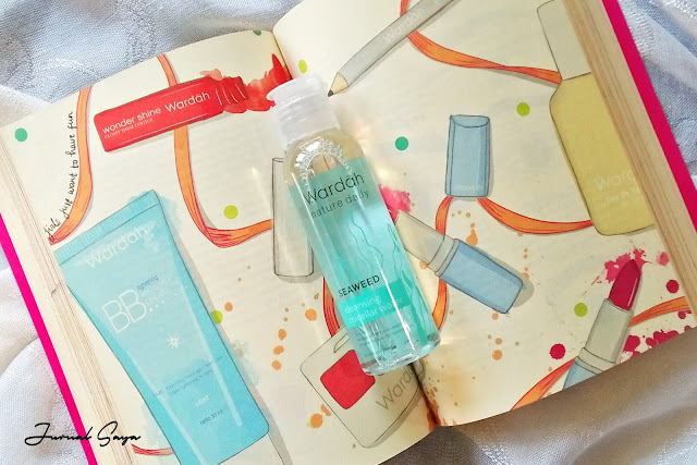 review wardah micellar water