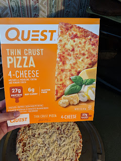 keto cheese pizza quest