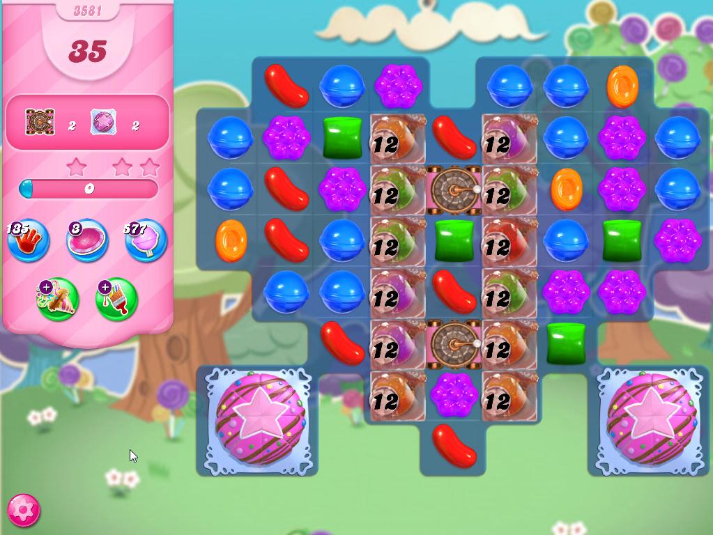 Candy Crush Saga level 3581