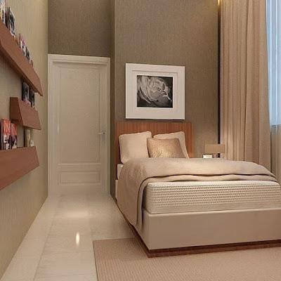 desain kamar tidur unik ukuran 3x3