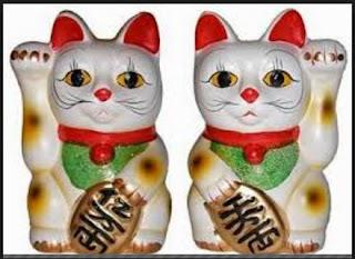 kucing keberuntungan cina, shio kucing