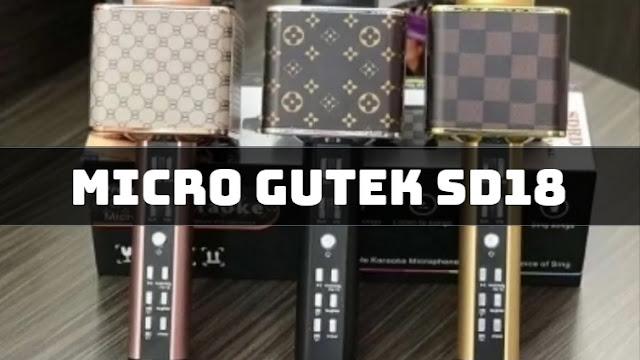 Micro kết nói với điện thoại đẳng cấp Gutek SD-18