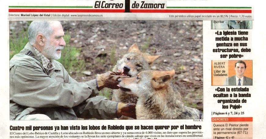 AMIGO LOBO: Blog lobero de Carlos Sanz: NOTICIAS Y REPORTAJES SOBRE EL CENTRO...