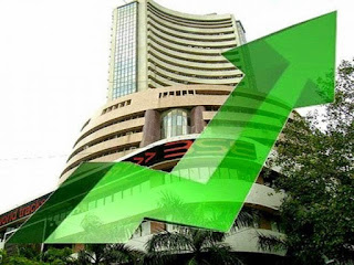 sensex nifty higher today