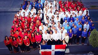 EDESUR realiza acto para honrar nuestra Bandera