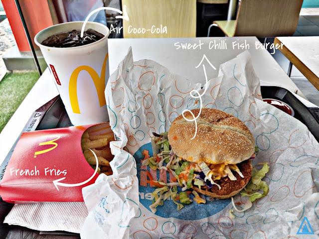 menu baru sweet chilli fish burger mcdonalds