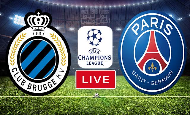 Match En Direct : Fc Bruges vs Paris Saint Germain en UEFA Ligue des Champions