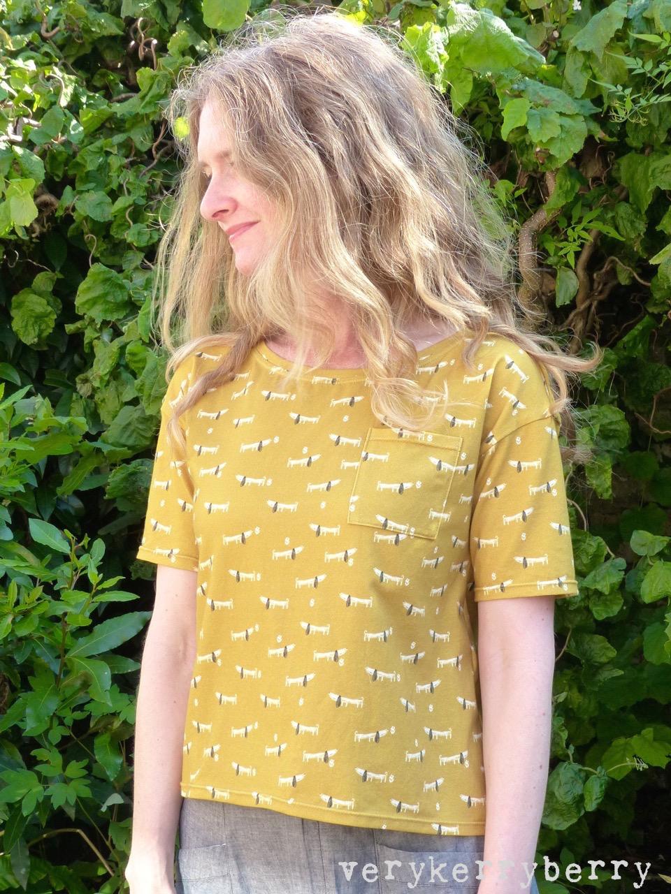 afb1cb21c2d Fancy Tiger Wanderlust T shirt with Dachshund Dog Print ...