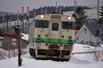 江差線廃止区間を走るJR北海道キハ40系