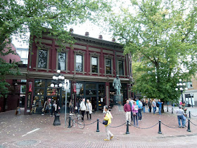 Gastown on Sunday afternoon