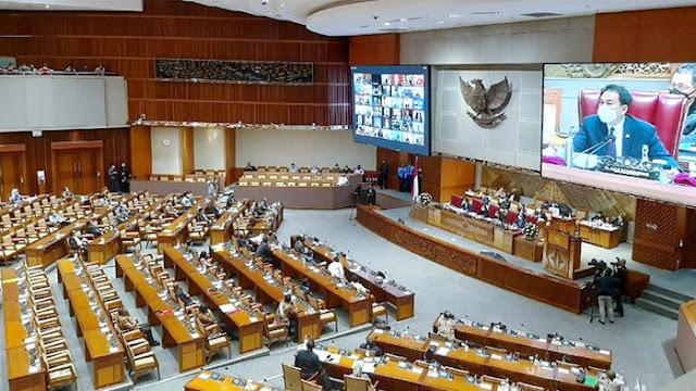 Akhirnya Anggota Dewan ada Yang Positif Corona, Gedung DPR Mau Di-Lockdown?