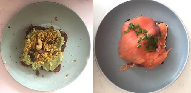 advocado toast et toast au saumon chez nicolau à lisbonne