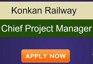 Sarkari Naukri Railway Konkan Railway Recruitment 2020 For Chief Project Manager posts | Sarkari Jobs Adda 2020