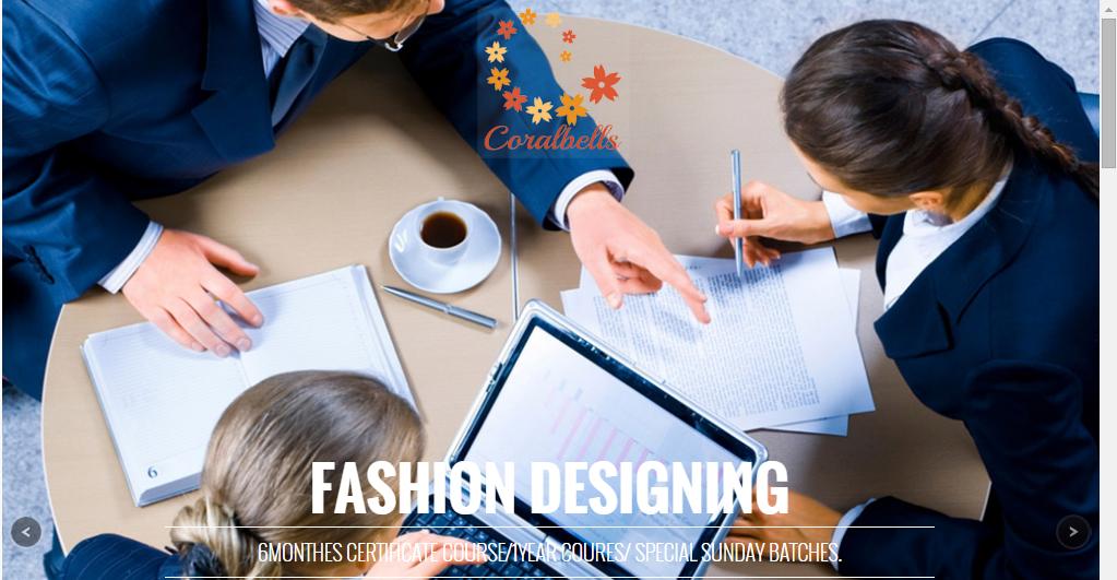 Web Designer In Udaipur Coralbells Academy Of Fashion Arts