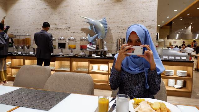 agnes blogger medan makan pagi