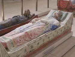 Tumbas de Leonor de Aquitania y Ricardo Corazón de León