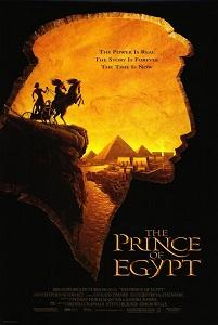 Poster original de El príncipe de Egipto