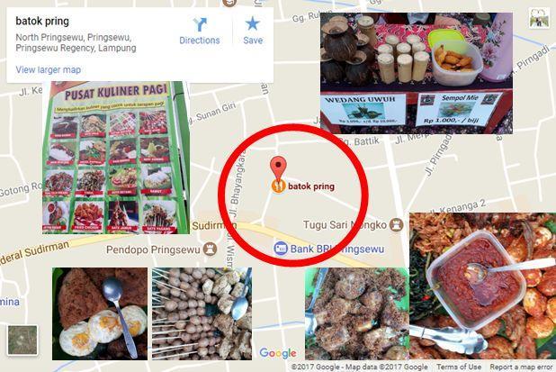 Batok Pring Pusat Kuliner Pagi dan Sarapan di Pringsewu