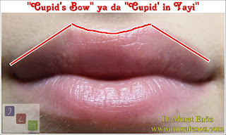 """Cupid's bow"" ya da ""Cupid' in Yayı"""