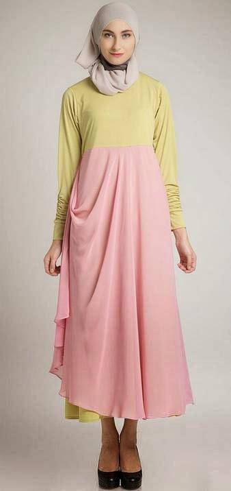 Gambar Baju Dress Muslimah untuk Perempuan