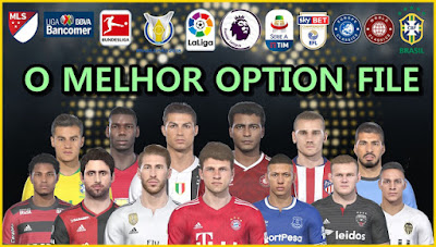 PES 2019 PS4 Option File PESVicioBR v4 Season 2018/2019