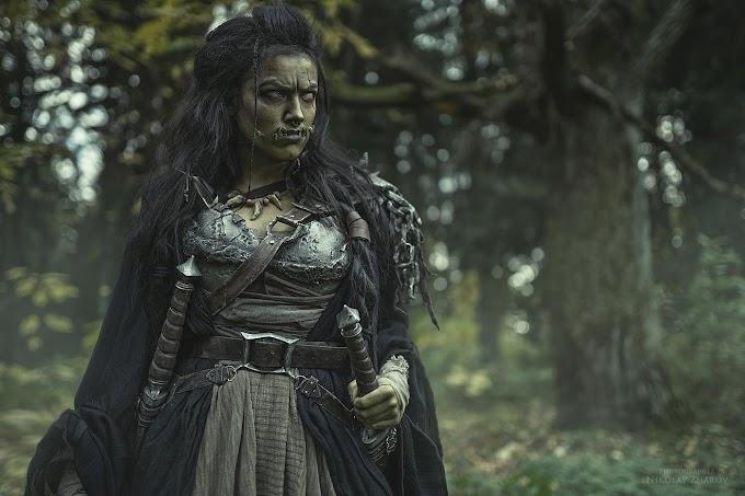 Dark Incognito con su cosplay de Orco