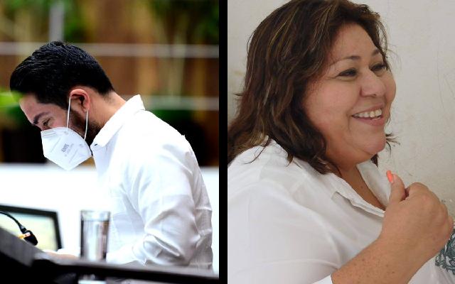 Por el principio de paridad de género, PRI baja a Borjas y pone a Elizabeth Gamboa