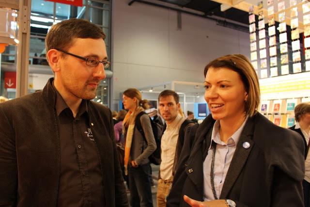 Lutz Geißler im Gespräch mit Julia von The Cookingknitter