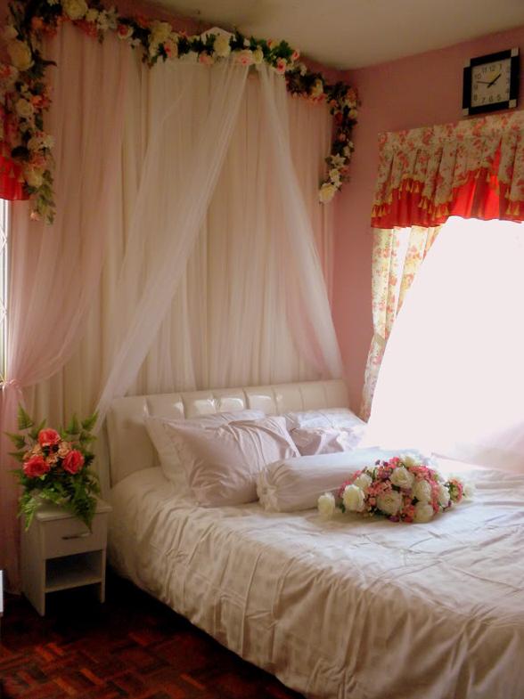36 Dekorasi Kamar Tidur Pengantin Baru Yang Sederhana