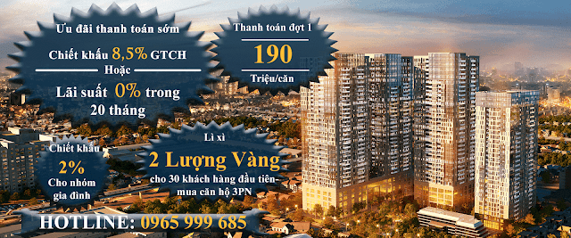 Mua Chung cư GoldSeason 47 Nguyễn Tuân nhận CK tới 12,6%