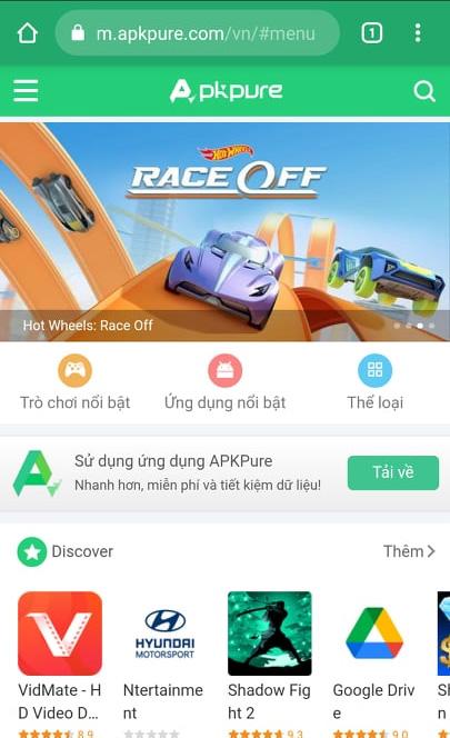 Tải APKPure - Công cụ tải Apk trực tuyến trên APKPure.Com miễn phí d