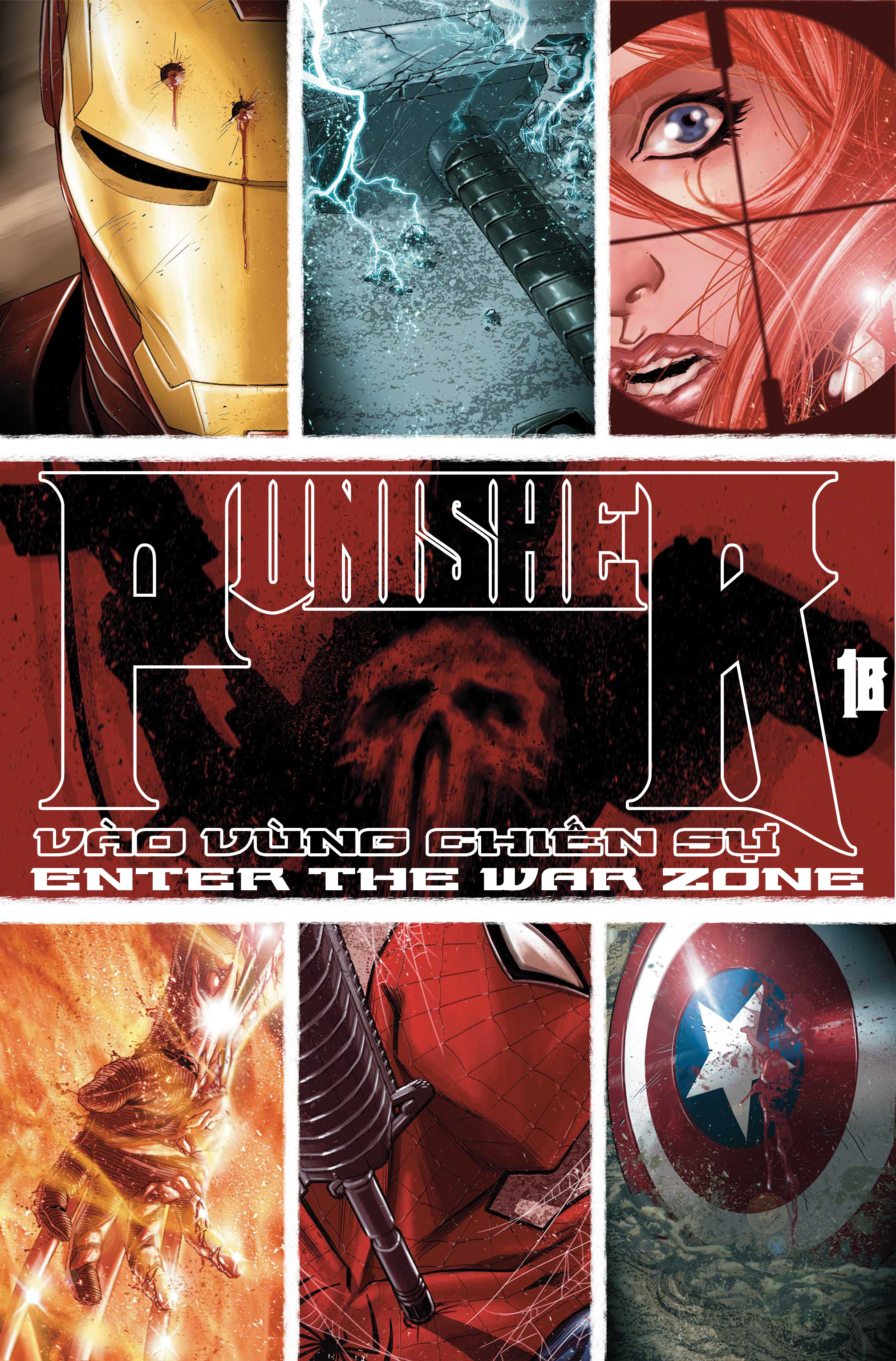 Punisher: Vào Vùng Chiến Sự | Enter The War Zone