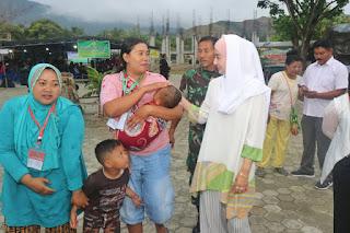 Terbang ke Papua, Novita Hardini Temui Pengungsi Wamena Asal Trenggalek .
