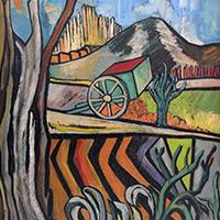 Sally Weintraub pintura figurativa paisajes argentina