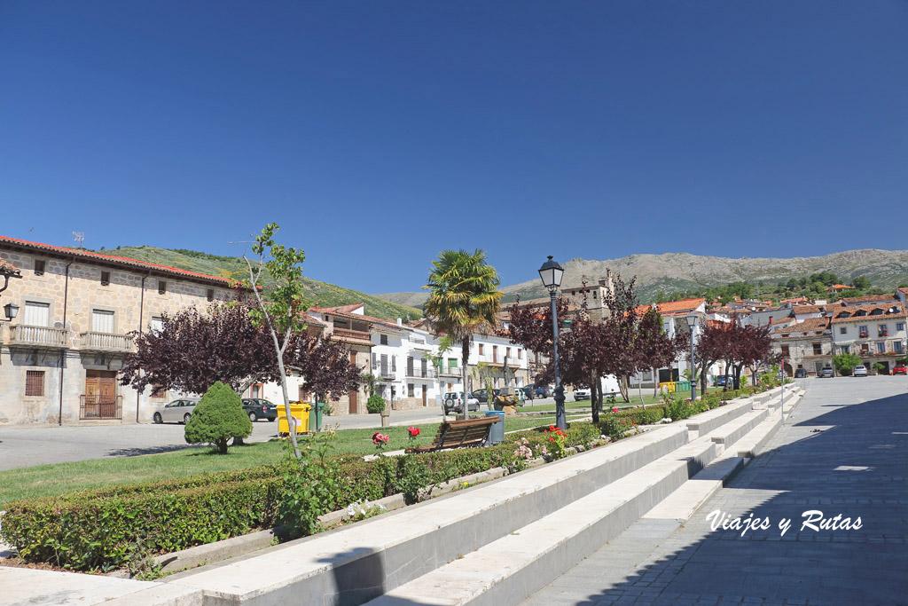 Plaza de la Corredera de Mombeltrán