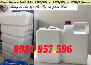 Can nhựa nguyên sinh, can đựng nước tẩy, can đựng thuốc Sản phẩm can nhựa đựng hóa chất, thuốc tẩy cộng nghiệp, hóa chất ăn mòn cao: Dung tích sản phẩm: 5L (0.4kg) Chất liệu: nhựa HDPE nguyên sinh Thiết kế: can trắng / nắp đỏ (có garenti) Can chuyên dụng trong công nghiệp nhằm đựng những dung dịch có tính ăn mòn cao, độ oxi hóa cao, dễ bay hơi… Can được thiết kế với thành dày dặn và có tính chất đàn hồi – chống biến dạng nhằm vận chuyển đường xa mà không móp méo hay nứt vỡ. Nắp can đảm bảo tính niêm phong và hạn chế tối đa sự rò rỉ của dung dịch đảm bảo độ an toàn cao. Can nhựa hóa chất 5L, can hóa chất 5L, can 5L đựng dung dịch ăn mòn, can nhựa HDPE nguyên sinh tại Hà Nội Liên hệ với chúng tôi: Hotline/Zalo: 0981.957.596 – Mai Anh Email liên hệ: maianhkd3@gmail.com Website sản phẩm:  lamsachmoitruong.com Xem trực tiếp tại: số 77, ngách 157/10, ngõ 157, phố Đức Giang, Long Biên, Hà Nội