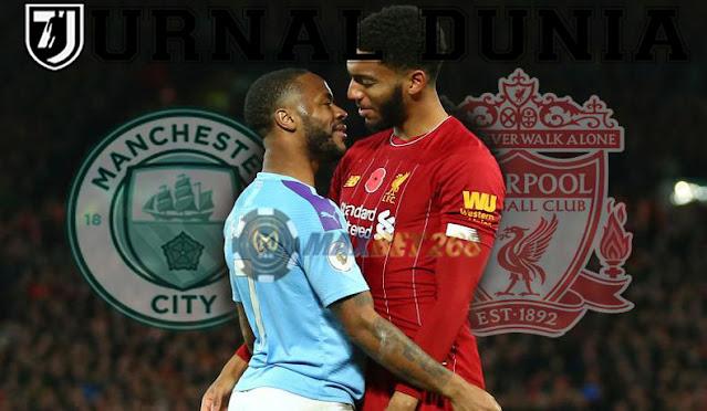 Prediksi Manchester City Vs Liverpool, Minggu 08 November 2020 Pukul 23.30 WIB @ Mola TV