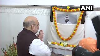 प. बंगाल दौरे पर अमित शाह, किया रामकृष्ण मिशन का दौरा