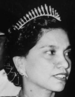 diamond fringe tiara queen kurshiah tunku ampuan besar negeri sembilan malaysia