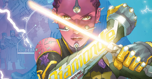 PREVIEW: Electric Warriors #3