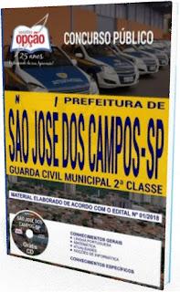 Apostila concurso da GCM de São José dos Campos (2018)