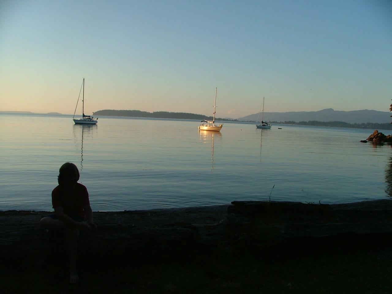 Anchoring at Saddlebag Island state Park