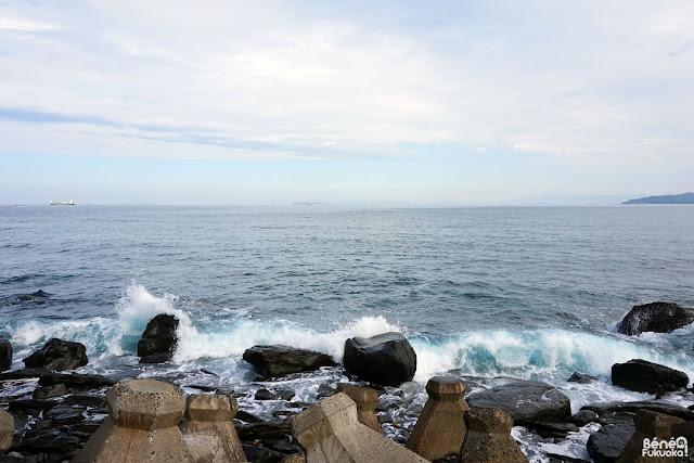 玄海島の海、福岡