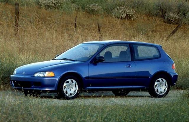 Honda Civic Generasi 5 dan 6.