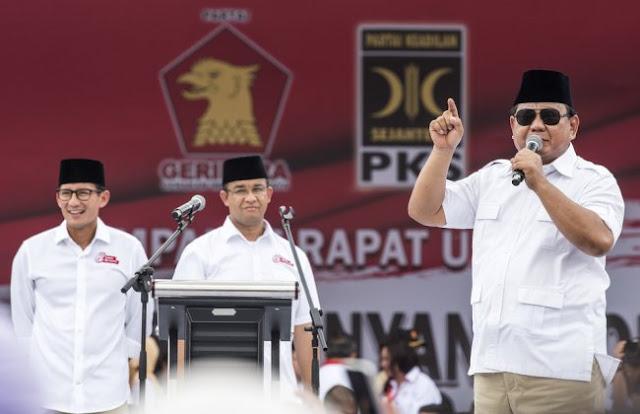 Anies dan Sandiaga Kuat, Prabowo Disebut Sulit Menang di Pilpres 2024