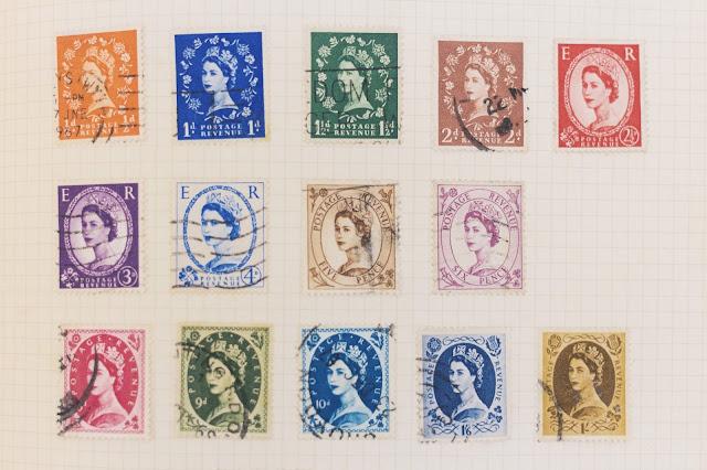 1960s British stamps