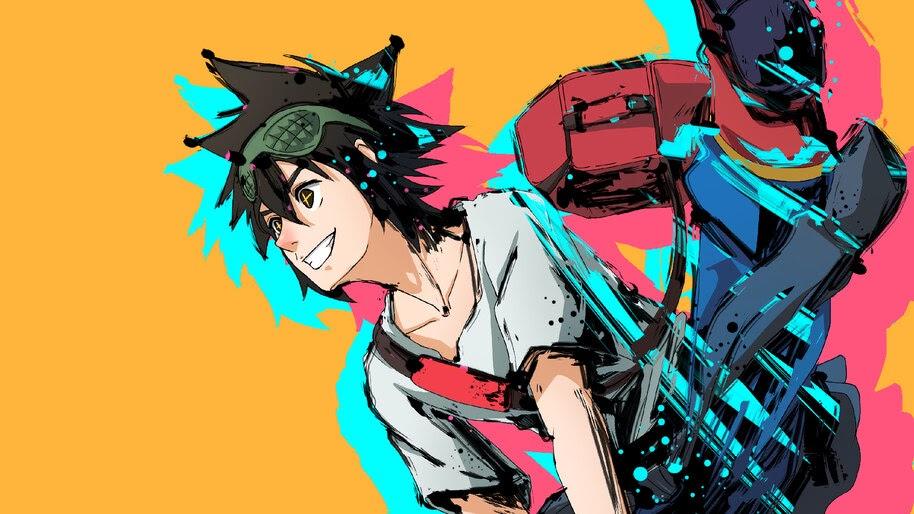 Jin Mori, God of High School, Anime, 4K, #5.2527