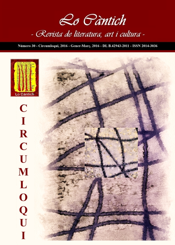 Lo Càntich - Número 30 - Circumloqui, 2016