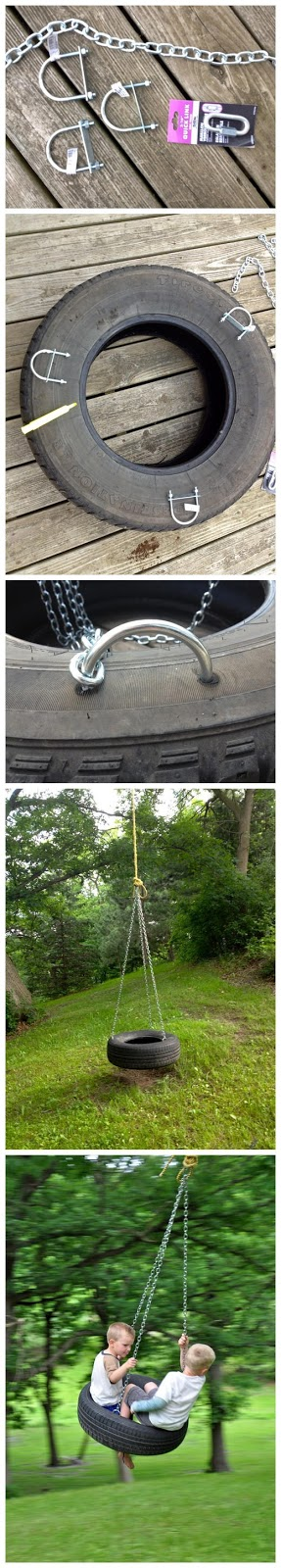 DIY : Make Swing by Old Tire