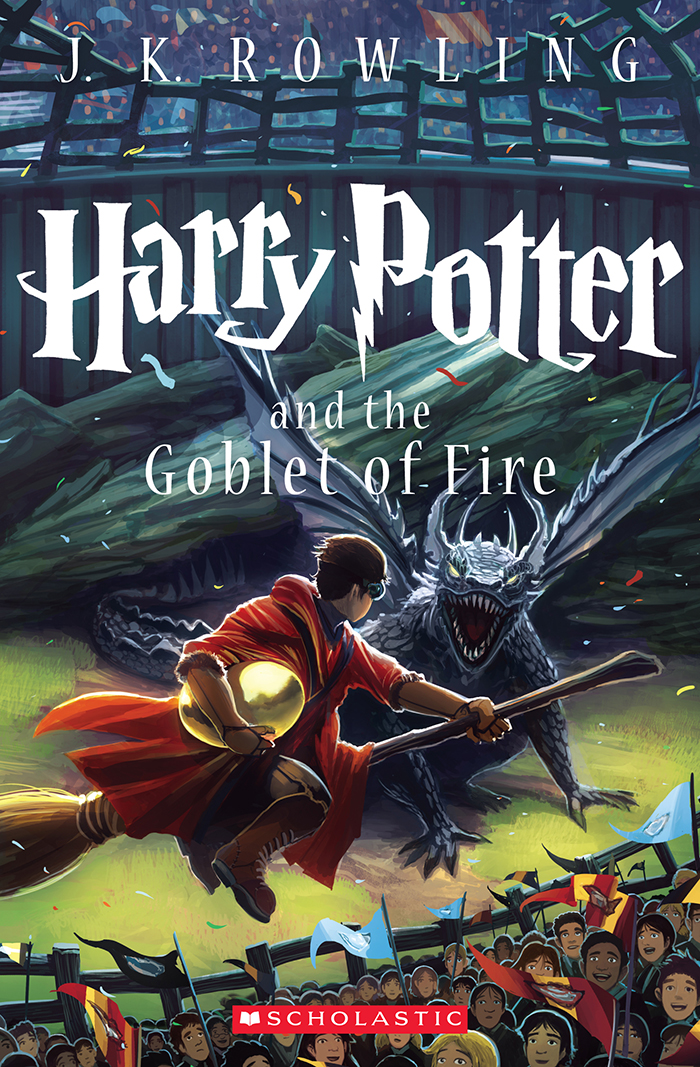 Harry Potter And The Goblet Of Fire 15th Anniversary Cover By Kazu Kibuishi